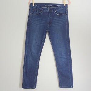 Calvin Klein Dark Blue Slim Boyfriend Jeans 6